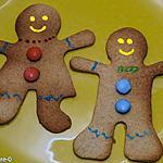 recette Bonhommes sablés de Noël