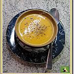 recette Velouté crémeux potiron, carotte, au gingembre