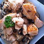 recette Blanquette de saumon légère