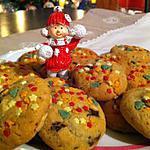 recette Cookies en habit de Noël