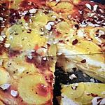 recette Tarte sans pâte au gorgozonla et aux noisettes