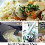 recette Tendres perles aux Saint-Jacques et poireau
