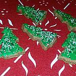 recette Sapin de Noël biscuits