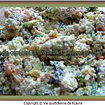 recette Salade de céréales gourmandes, avocat et truite fumée