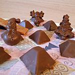 recette PETITS CHOCOLATS AU LAIT AUX CRÊPES DENTELLES