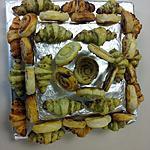 recette Assortiment de mini croissants salés
