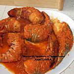 recette Queues de langouste à l'armoricaine
