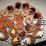 recette Tartelettes apéritives au sarrasin diverses