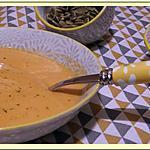 recette Velouté de Courge Butternut et Patate Douce.
