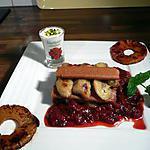 recette millefeuilles de gavottes à la compotée de fraises