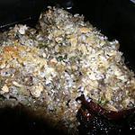 recette Aubergines farcies à la duxelles