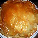 recette Tourte croustilllante au poulet