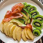 recette Salade de truite, kiwi, avocat et pomme