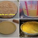 recette TARTE AU CITRON (recette de mamie Nanou)