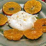 recette Mozzarella aux clémentines