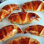 recette Croissants- Apéro-  Gourmands