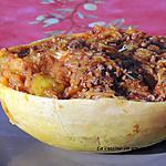 recette Courge spaghetti à la viande hachée