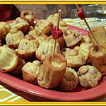 recette Minis Cakes au fromage et magret fumé