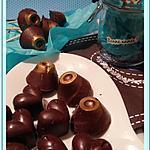 recette Chocolats pralinés et amandes