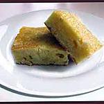 recette Blondie (ou Brownie) au chocolat blanc et aux noix