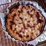 recette Tarte poires - amandes