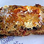 recette Lasagnes au jambon cru, caviar d'aubergines et mascarpone