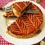 recette Galette des Rois griotte pistache
