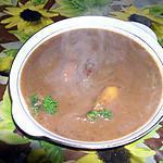 recette Soupe de marrons