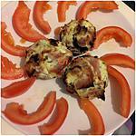 recette Champignons farcis au boursin & jambon