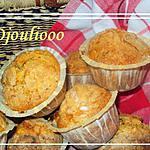 recette Muffins pommes-pruneaux