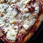 recette Pizza paysanne