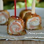 recette Roulés de saumon et tartare