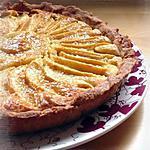 recette Tarte aux pommes & à la frangipane