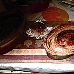 recette terrine  de canard noisettes, pistaches de michelle croquant fondant;
