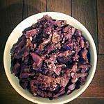 recette Salade de chou rouge à la polonaise