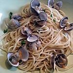 recette Spaghetti aux coques