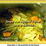 recette Soupe aux légumes d'hiver