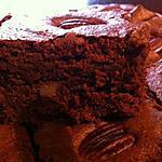 recette Brownie aux deux noix