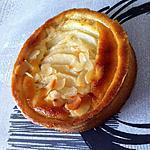 recette Tartelettes poires amandine