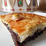 recette GALETTE DES ROIS AU CHOCOLAT