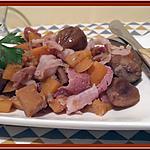 recette Poêlée de Rutabaga et Marrons au Thermomix