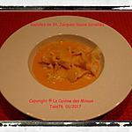 recette Ravioles de St.Jacques Sauce Coraillée
