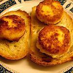 recette Queijo de cabra panado (fromage de chèvre paner)Portugal