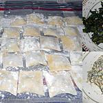 recette RAVIOLI AUX BLETTES ET PHILADELPHIA