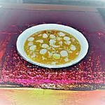recette potage  restes pilons poulets et  légumes anciens