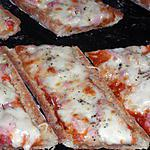 recette Baguette pizza