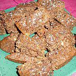 recette Brownie sans gluten et sans beurre,allégé en calorie mais pas en goût !!!