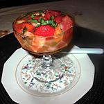recette desserts  de l été, salades de fruits, soupe de fraises  , push  up cakes::