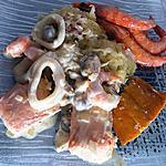 recette Choucroute de la mer au thermomix