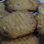 recette Biscuits au beurre d'arachides